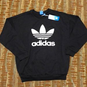 NWT adidas crew neck sweatshirt-size medium